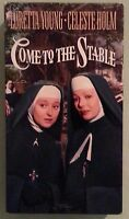 loretta young  COME TO THE STABLE celeste holm VHS VIDEOTAPE