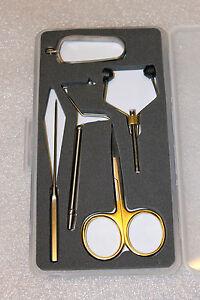 Fliegenbindeset, Werkzeug Set, Fliegenbinden