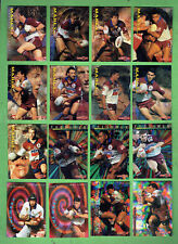 1996 SERIES 1  MANLY SEA EAGLES  RUGBY LEAGUE CARDS