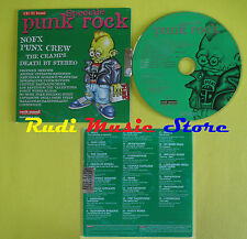CD ROCK SOUND PUNK ROCK 16 compilation PROMO 2003 NOFX PUNX CREW CRAMPS (C8)