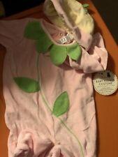 NWT Pottery Barn Kids Baby Flower Halloween Costume 0-6 MONTHS PBK