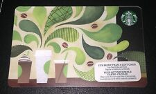 STARBUCKS CANADA 2015 HOW TO MAKE COFFEE GIFT CARD CUPS NO VALUE NEW ENG/FRENCH