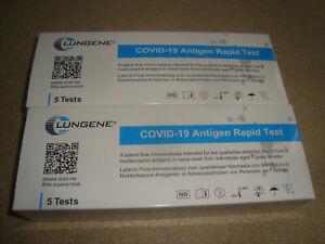 10x Clungene Covid-19 Antigen Schnelltest Nasal Coronatest Laientest MHD 02/2023