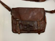 Vintage Toni Leather Messenger Bag Rare Laptop Crossbody Strap