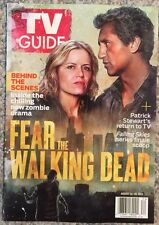 TV Guide Fear The Walking Dead August 2015 FREE SHIPPING!