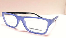 82509a8c33b Dolce Gabbana DG 5009 2879 Blue Matte Rubber 54-16-140 NEW Unisex Eyeglasses