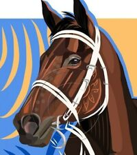 WINX Australian Thoroughbred Racehorse Art Giclee Paper Print Signed SFASTUDIO