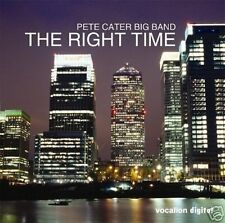 Pete Cater Big Band The Right Time Vocalion CD 2006