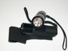 9 LED ULTRA VIOLET UV BLACK LIGHT TORCH GLOW IN THE DARK, NEON HALLOWEEN