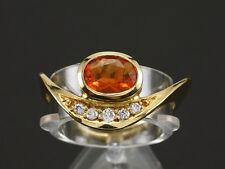 Brillant Ring mit Feuer Opal Neu & Ungetragen Goldschmiedearbeit