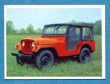 AUTO FLASH - Ed.COX - Figurina/Sticker n. 161 - JEEP -New