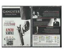 GANGSTER COLLECTION 3 DVD AMERICAN GANGSTER SCARFACE CASINO' V. EDITORIALE