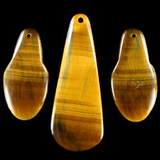 Stunning Blue-Golden Tiger's Eye Pendant Bead Set P0080 - Exquisitely Matched !!