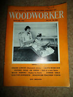 Woodworker January 1961 ~ Retro Vintage Illustrated Magazine + Advertising