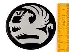 VAUXHALL ★ 4 Stück ★ SILIKON Ø70mm Aufkleber Emblem Felgenaufkleber Radkappen