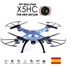 DRON SYMA X5HC Cámara HD 2MP y Barómetro 2,4GHz AZUL