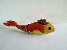 """Vintage Dakin Dream Pets Fish wearing hat 9.25"""""""