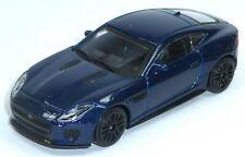 Jaguar F-Type R Dynamic Sammlermodell blau ca. 1:43 = 10,5 cm Neuware BBURAGO
