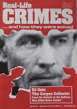Real-Life Crimes Issue 89 - Ed Gein the corpse collector