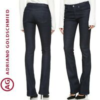 $198 AG ADRIANO GOLDSCHMIED the JODIE 5112 Slim Flare High Rise Jeans Size 27