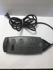 Belkin Surgemaster Grey 9 Outlet With Network Ports Surge Power Strip
