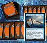 mtg BLUE KEFNET COMMANDER EDH DECK Magic the Gathering rare cards tempest djinn