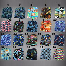 Mens Bademoden beach swimming trunks shorts beach fitted stretch funky pattern
