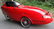 Velomobil Sunrider, fertiges Fahrzeug