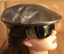 Dolce Gabbana D&G DG Sheepskin Leather Hat Cap Size 57 M Never Worn