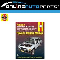 Haynes Car Repair Manual Book TF Rodeo TFR16 TFR17 TFR25 TFS17 TFS25 1991-2002