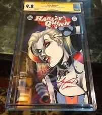 Harley Quinn 29 Signed x3 CGC 9.8