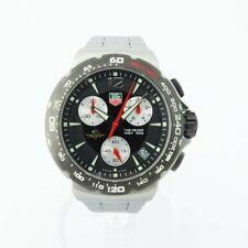 Tag Heuer Formula 1 CAC111A Chronograph Black Bezel SS Men's Watch [b0909]