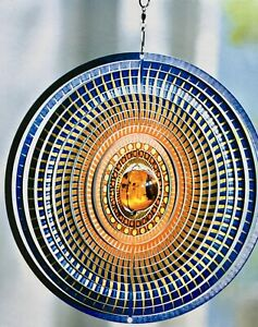 Windspiel Sonnentraum NEU  bunte Farben tolle Dreheffekte aus Metall