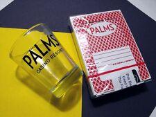 Palms Casino Hotel Vintage Las Vegas Cards & Shot Glass