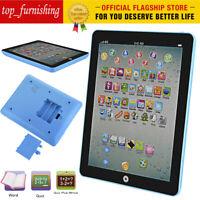 New Kids Educational Tablet Pad Learning Toys Gift For Boys Girls Baby Children
