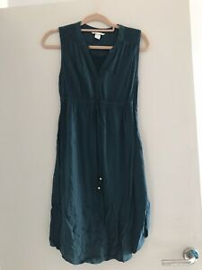 H&M Maternity/Nursing Shirt Style Dress Size S 8 / 10
