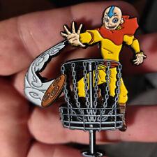 "Disc Golf - NEW 2"" metal Bag, hat, lapel pin - Avatar Disc Golf"
