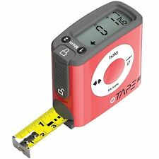 eTape16 ET16.75-db-RP Digital Tape Measure 16 Feet Red