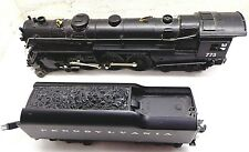 Lionel 773 Pennsylvania Steam Locomotive & 6200 Tender Train 'O'-Scale FREE SHIP
