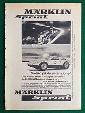 OC28 Pubblicità Advertising Clipping 19x13 cm (1969) MERCEDES MARKLIN SPRINT