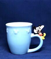Disney Store Mickey Mouse Blue Ceramic Large 16 Oz Mug W/Mickey On The Handle