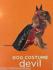 New dog costume large 21-30 pounds devil pet halloween  puppy cat