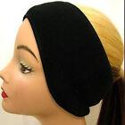 Winter Mens Womens Fleece Earband Stretchy Headband Earmuffs Ear Warmers Pop