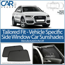 Audi Q3 5dr 2012> CAR SHADES UK TAILORED UV SIDE WINDOW SUN BLINDS PRIVACY BABY