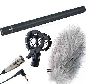 Rode NTG-3B Richtrohr-Mikrofon + keepdrum Fell-Windschutz -Spinne -XLR/TRS Kabel