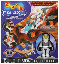 ZOOB GALAX-Z LUNAR PATHFINDER 25 PIECES BRAND NEW BUILD IT MOVE IT ZOOB IT