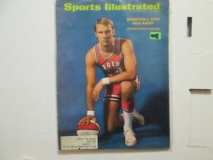 August 1970 Sports Illustrated Cover--Rick Barry Virginia Squires