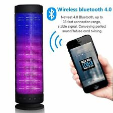 Newest 360° Surrounded Outdoor Wireless Bluetooth LED Audio Pulse Stereo Speaker