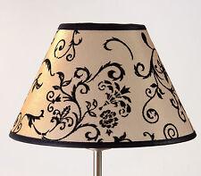 Lampenschirm zum Klemmen mit Goldeffekt E14 Glänzend Glittereffekt Tischlampe