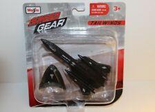 MAISTO TAILWINDS SPEED GEAR SR-71 BLACKBIRD U.S. AIR FORCE PLANE NEW 2012 MINT